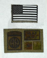 Very Hot US Army 82nd Airborne: Patch Set