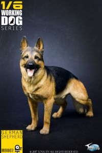 Toys City Working Dog Series - German Shepard