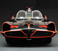 Hot Wheels 1:18 Scale Barris 1966 Batmobile (Displayed & Repackaged, Mint)