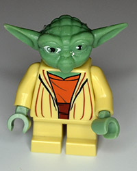 Lego Star Wars Yoda Figure