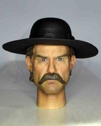 Redman Toys Deputy Town Marshall: Headsculpt (With Hat)