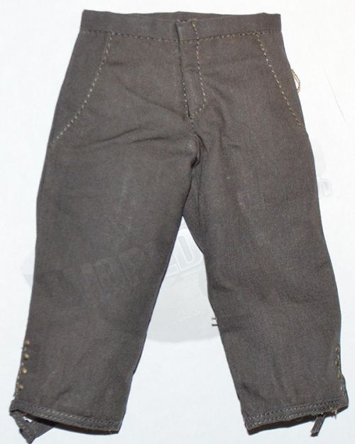 Third Party Pirates of the Carribean Jack Sparrow: 3/4 Trousers (Dark Gray)