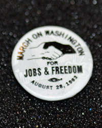 "DiD Dr. Martin Luther King: ""Jobs & Freedom"" Pin"