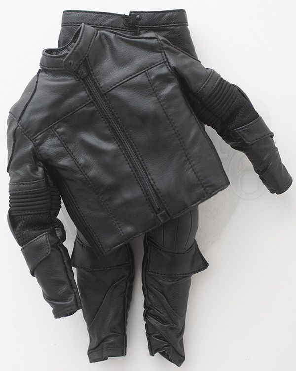 Art Figures Heavy Armored Special Cop: Leather Combat Jacket & Trousers (Black)