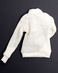 Alert Line WWII Royal Air Force Fighter Pilot: Turtleneck Sweater (Cream)