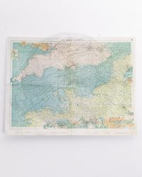 Alert Line WWII Royal Air Force Fighter Pilot: English Channel Map
