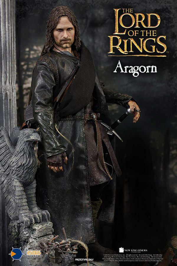Asmus Toys The Lord of the Rings Series Aragorn