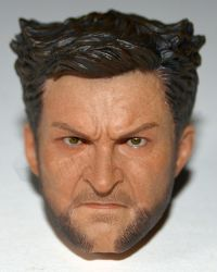 ADD Toys War Wolves (Bare Chested & Suit Versions): Angered Wolverine Headsculpt