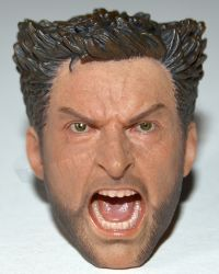 ADD Toys War Wolves (Bare Chested & Suit Versions): Screaming Wolverine Headsculpt