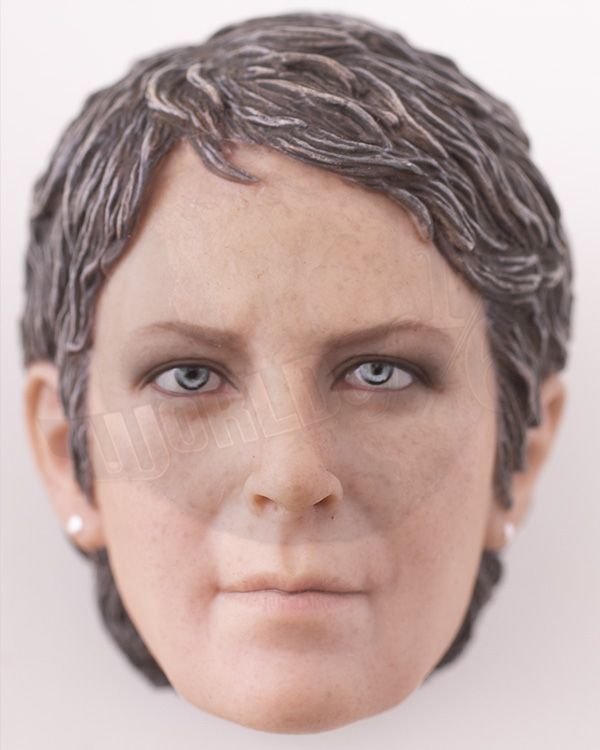 TWD Carol Female Character Set: Headsculpt (Clean Version)