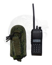 Dam Toys Russian Airborne Troops VDV in Crimea: Motorola Radio With Digital Flora Pouch