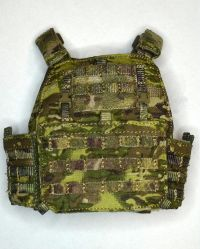 DamToys PMSC's Private Military Security Companies In Syria Contractor: APC Assault Plate Carrier Set (MultiCam)