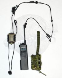 DamToys PMSC's Private Military Security Companies In Syria Contractor: Slynx Quiettops Headset System With Saber III Radio
