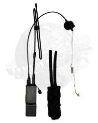 DamToys Navy Commanding Officer: AN/PRC-148 MBITR Radio With In-Ear Headset PTT & Radio Pouch