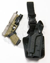Dam Toys DEA SRT (Special Response Team) Agent El Paso: Glock With Drop Down Holster