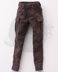 Flagset Eat Chicken Series Doomsday Survivors: Cargo Trousers (Brown)