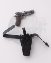 Flagset Eat Chicken Series Doomsday Survivors: M1911 Handgun With Dropdown Holster