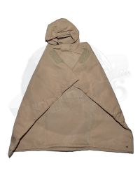 Flagset Toys Modern Battlefield End War V Ghost: Hooded Rain Poncho (Tan)