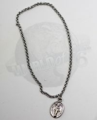 Dam Toys Gangsters Kingdom Heart II Benson: Silver Necklace With Amulet