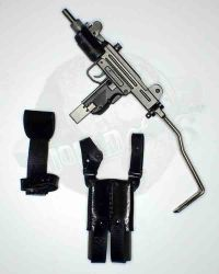 "Gangsters Kingdom Spade 7 ""Harry"":  Mini Uzi With Holster 7 Cartridge Pouch"