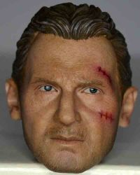 Craft One Agent: Real-like Headsculpts (Liam Neeson Likeness, Bruised)