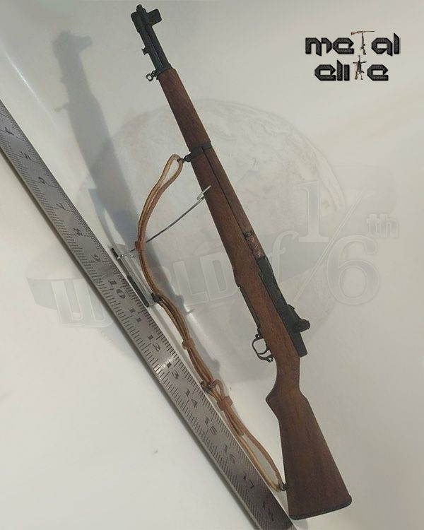 Metal Elite 1/6 scale Arisaki and M1 Garand Rifles ( Wood and Metal ) Respectively