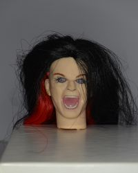 Ozzy Osorne Headsculpt With Rooted Hair