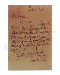 Ring Toys Infamous Misty Midnight Jack the Ripper: Letter From Hell