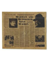 Ring Toys Infamous Misty Midnight Jack the Ripper: Newspaper Clipping