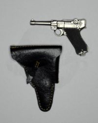 Star Ace Steve McQueen As Captain Virgil Hilts Exclusive Edition: German Luger & Holster