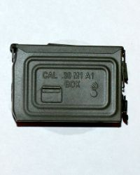 Soldier Story US Army 28th Infantry Division Machine Gunner Arden 1944: 30 Cal Ammo Can Box