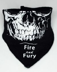 VTS Toys Darkzone Rioter: Balaclava Mask With Skull Imprint