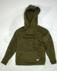 VTS Toys Darkzone Rioter: Hoodie Sweatshirt (Olive With Imprint On Chest)