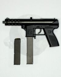 VTS Toys Darkzone Rioter: Tech 9 Sub Machine Gun With 1 Short & 1 Long Clip