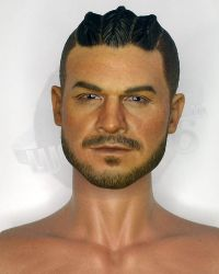 VTS Toys Darkzone Rioter: Highly Detailed Figurebody With Headsculpt (Braided & Facial Hair, No Hands, Feet)