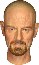 Wolf King Dr. Chemical Poisoning: Headsculpt (Walter White)
