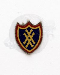 WWII US Army XX Corps Shoulder Patch