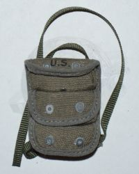 Rare & Hard To FindDiD WWII US Army Three Pocket Grenade Pouch With Functional Tabs