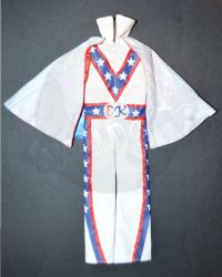 Rare & Hard To FindEvel Knievel Overalls & Cape Outfit Set