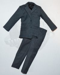 Rare & Hard To FindHot Toys Pinstripe Suit Blazer & Trousers (Dark Blue)