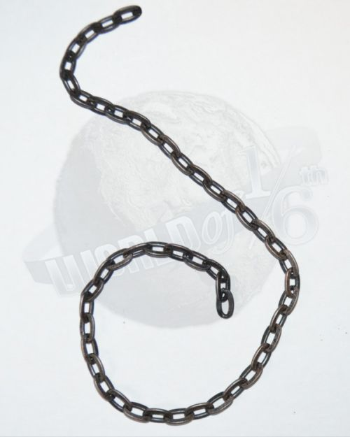 "Rare & Hard To FindWeathered 1/4 Scale Chain Link In 12"" Lengths (Metal)"