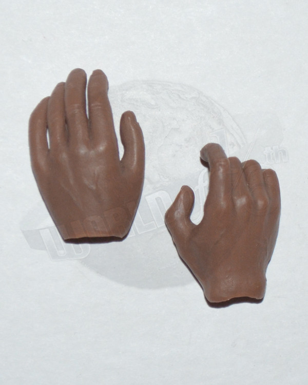 Right Trigger & Left Relaxed Hand Set (Brown Skinned)