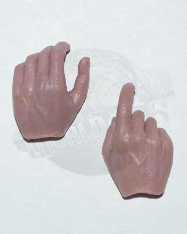 Right Hand Trigger Left Hand Grasping Hand Set (Pinkish)