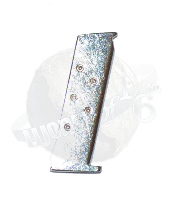 Rare & Hard To Find  M1911 Magazine (Chrome Metal)