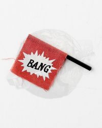 Hot Toys Joker Bang Revolver Flag