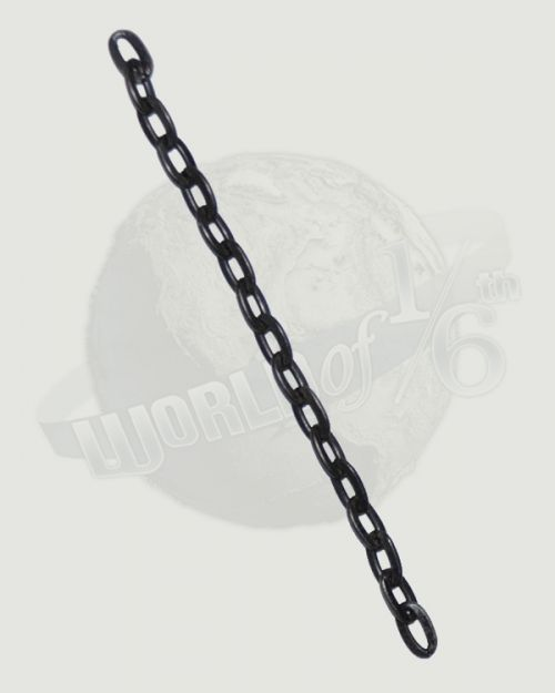 "Rare & Hard To FindWeathered 1/4 Scale Chain Link In 6"" Lengths (Metal)"