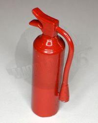 Unknown Manufacturer Fire Extinguisher (Worn Metal, Red)