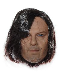 The Walking Dead Daryl Headsculpt With Rooted Hair