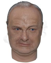 DID 1/6 WWII UK Prime Minister Winston Churchill: Headsculpt