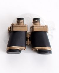 Binoculars With Gold Accents